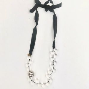 J.Crew ribbon necklace